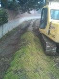 lavori in campagna: pulizia fossi a gennaio